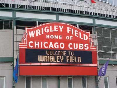Blog #258 - Wrigley Field Marquee