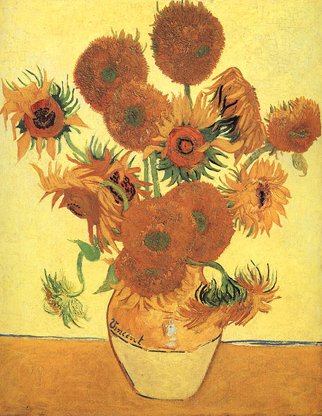 Blog #241 - Sunflowers Vincent Van Gogh
