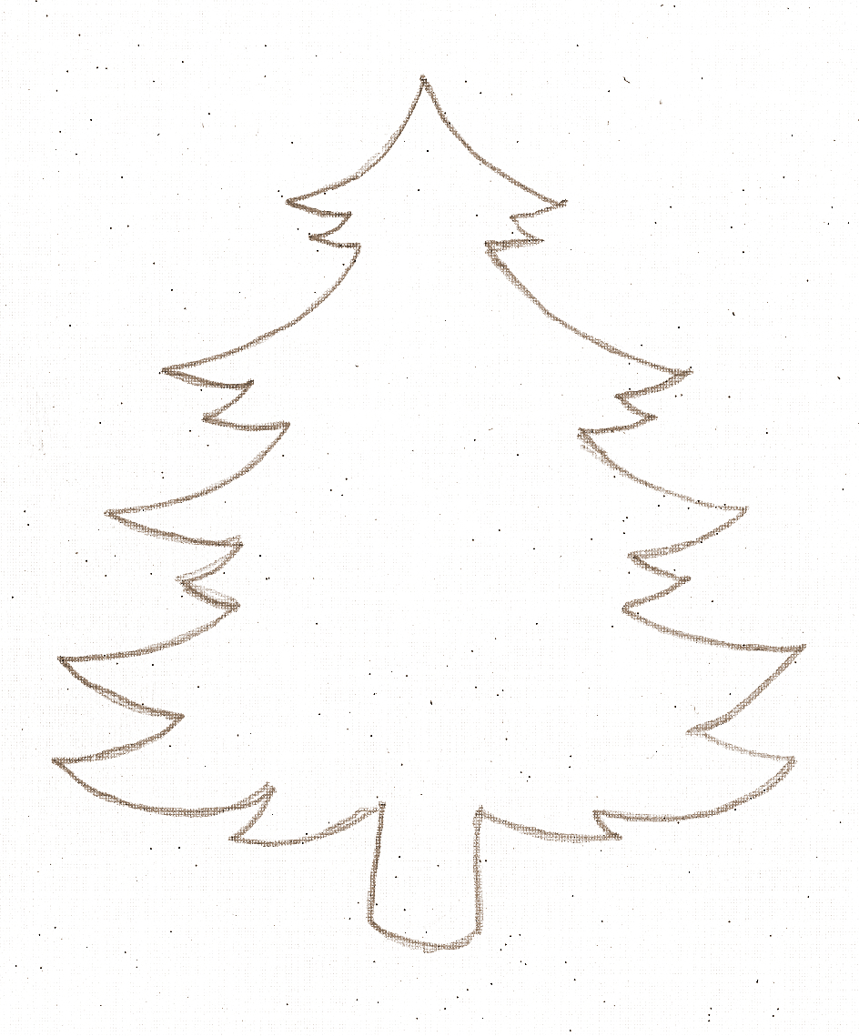 Snowman , Christmas Tree , and Star Stencil Templates (Click each to ...
